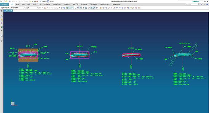 A柱DL图全工序开发(步骤二) (3129播放)